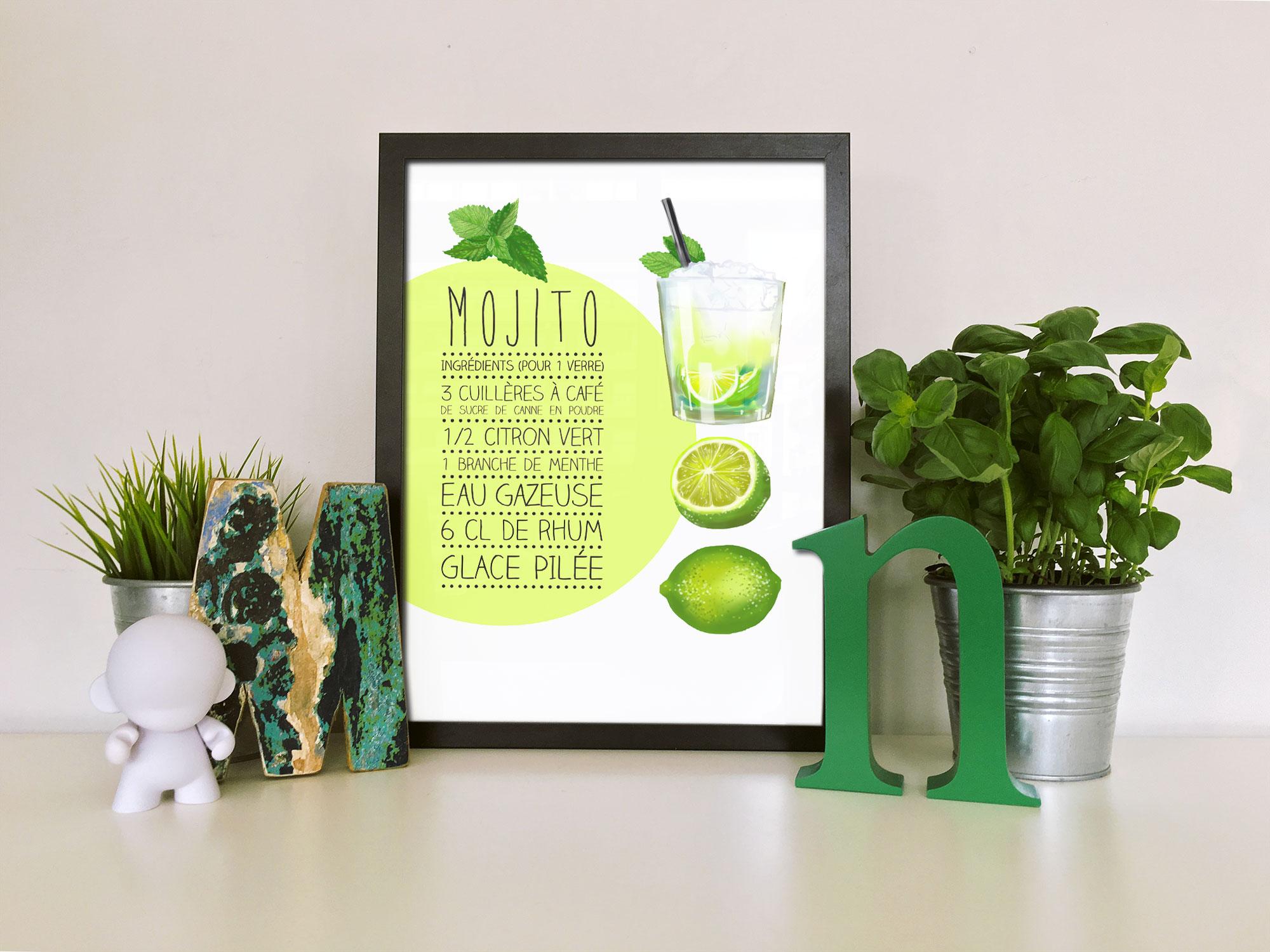 affiche mojito