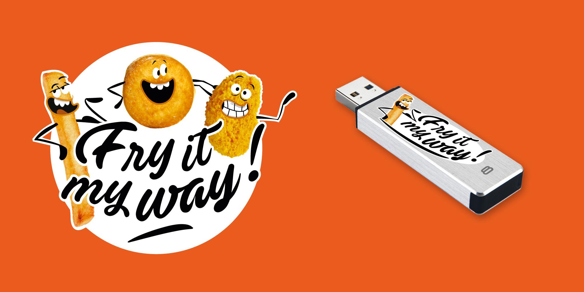 logo fry it my way